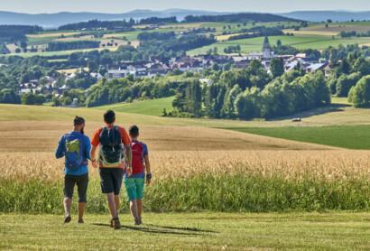 Besuche in Bärnau und Grafenwöhr