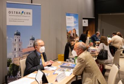 Präsentation der Ostbayerischen Städte bei Workshop der DZT in Italien